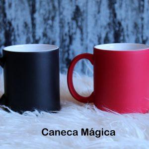 Caneca Mágica R$45 Cores-preta ou vermelha